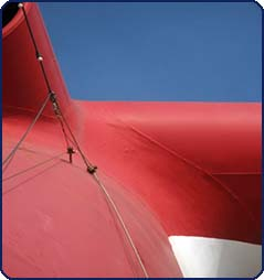 Cruise Ship Safety Rigging