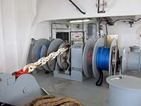 Custom mooring lines installed