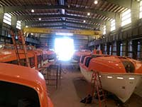 Holland America 5 Year Lifeboat Inspection