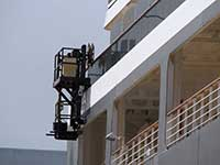 Skycon Rail Window Washing Systems